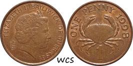 Guernsey 1 Penny 1998 KM#89 XF