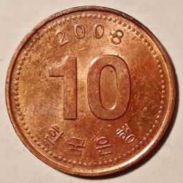 South Korea 10 Won 2006-Date KM#103