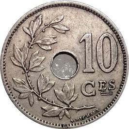 Belgium 10 Centimes 1901-1903 BELGIQUE KM#48