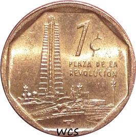 Cuba 1 Centavo 2000-2017 KM#729