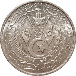 Algeria 2 Centimes 1964 KM#95