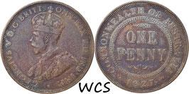 Australia 1 Penny 1927 KM#23 VF