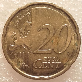 Estonia 20 Cents 2011 KM#65 VF-