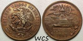 Mexico 20 Centavos 1955-1971 KM#440