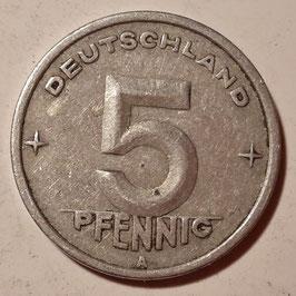 GDR 5 Pfennig 1948-1950 KM#2