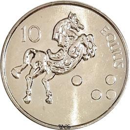 Slovenia 10 Tolarjev 2000-2006 KM#41