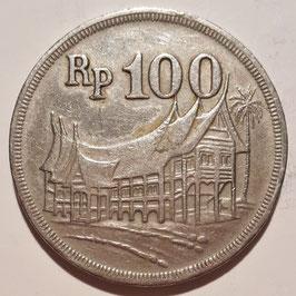 Indonesia 100 Rupiah 1973 KM#36