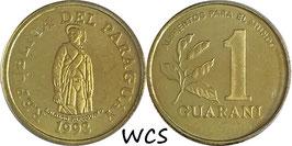 Paraguay 1 Guarani 1993 F.A.O. KM#192 UNC