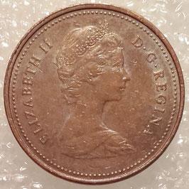 Canada 1 Cent 1980-1981 KM#127