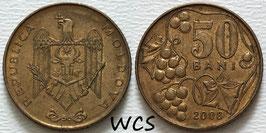 Moldova 50 Bani 1997-2012 KM#10