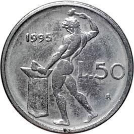 Italy 50 Lire 1990-1995 KM#95.2
