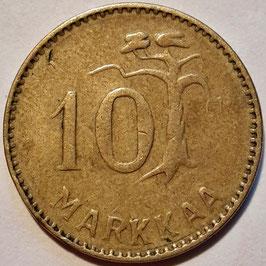 Finland 10 Markkaa 1952-1962 KM#38