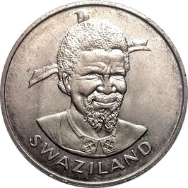 Swaziland 1 Lilangeni 1976 KM#28 UNC- F.A.O. - Food and Shelter for all