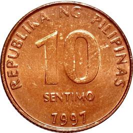 Philippines 10 Sentimos 1995-2017 KM#270
