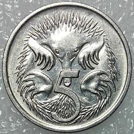 Australia 5 Cents 1985-1998 KM#80