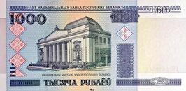 Belarus 1000 Rubles 2000 (2011) P.28b UNC