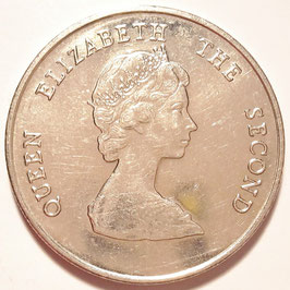 East Caribbean States 25 Cents 1981-2000 KM#14