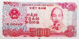Vietnam 500 Dong 1988 P.101a UNC