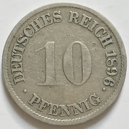 German Empire 10 Pfennig 1890-1899 KM#12 (1)