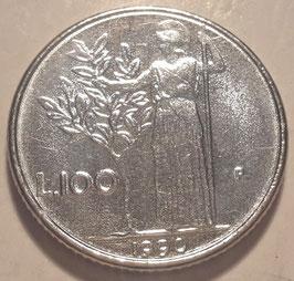 Italy 100 Lire 1990-1992 KM#96.2