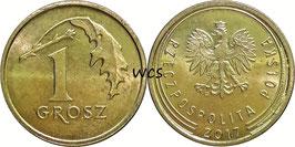 Poland 1 Grosz 2013-Date Y#923