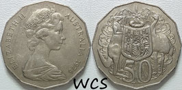 Australia 50 Cents 1969-1984 KM#68