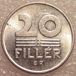 Hungary 20 Filler 1990-1996 KM#676