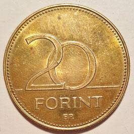 Hungary 20 Forint 1992-2011 KM#696
