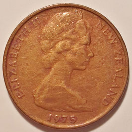 New Zealand 1 Cent 1967-1985 KM#31