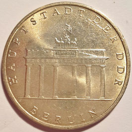 GDR 5 Mark 1971 A - Brandenburg Gate KM#29