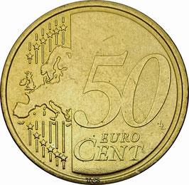 Germany 50 Cent 2007 KM#256 XF