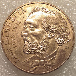 France 10 Francs 1982 - 100th Anniversary of the Death of Leon Gambetta KM#950 VF