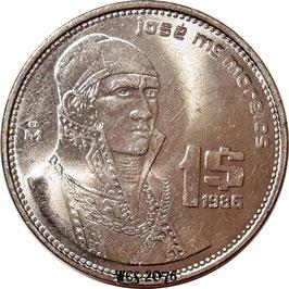 Mexico 1 Peso 1984-1987 KM#496