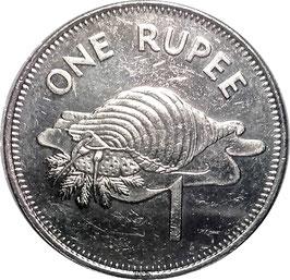 Seychelles 1 Rupee 1982-2010 KM50.1 VF