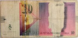 Macedonia 10 Denar 01.2008 P.14h G