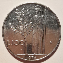 Italy 100 Lire 1955-1989 KM#96.1