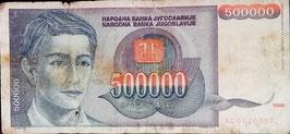 Yugoslavia 500.000 Dinara 1993 P.119
