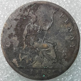 Great Britain 1 Penny 1874-1894 KM#755