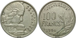 France 100 Francs 1954-1958 Beaumont-Le Roger KM#919.2