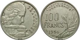 France 100 Francs 1954-1958 Beaumont-Le Roger KM#919.2