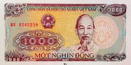 Vietnam 1000 Dong 1988 P.106a UNC