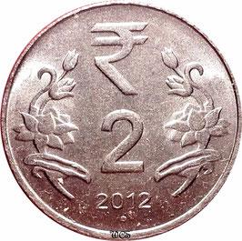 India 2 Rupees 2011-2016 KM#395