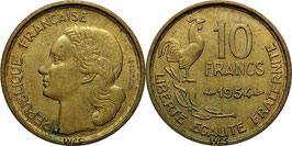 France 10 Francs 1950-1959 KM#915.1