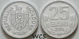 Moldova 25 Bani 1993-2020 KM#3