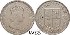 Mauritius 1 Rupee 1978 KM#35.1 VF