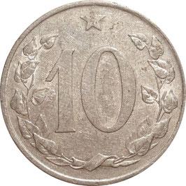 Czechoslovakia 10 Haleru 1953-1958 KM#38