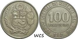 Peru 100 Soles 1980-1982 KM#283