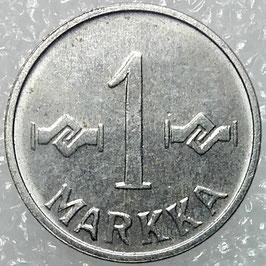 Finland 1 Markka 1953-1962 KM#36a