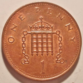 Great Britain 1 Penny 1992-1997 KM#935a