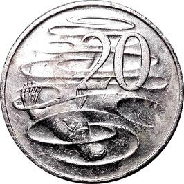 Australia 20 Cents 1999-Date KM#403